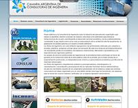 Web Cámara Argentina de consultoras de ingeniería