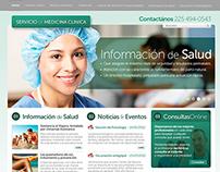 Web Servicio de medicina clínica