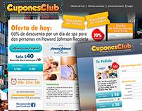 Web CuponesClub