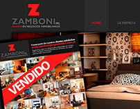 Web Zamboni Propiedades.