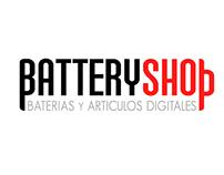Logo Battery shop