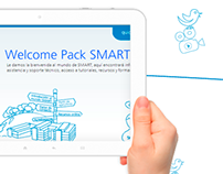 Welcome Pack SMART- Logotipo y animaciones