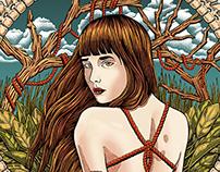 The shibari girl
