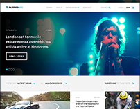 PSD Template - FilteredMag - News & Magazine Design