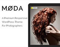 WP - Moda - A Stylish WordPress Photography Theme