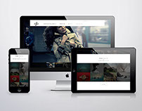 Dipp Photography Web Design Concept