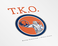 TKO Boxing Gym and Fitness Logo