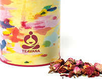 Teavana Summer Tea Tin