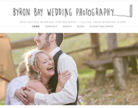 Byron Bay Wedding Photography Logo