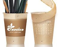 Exotica 2014 Peeling Calendar | Concept