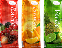 Tetra Pak packaging design (Fruit juice)