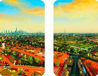 Crystal Palace, 2014, Photoshop, 173 x 226cm, Foxtons