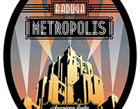Raduga Metropolis Beer Label