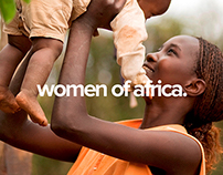 Women of Africa - Website Design