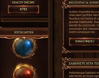 Marvelia - Game webdesign