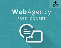 WebAgency Free Icon Set | WEB DESIGN