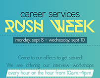 Career Services Rush Week