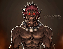 Gouki Akuma - Digital Painting