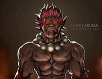 Gouki Akuma - Digital Painting