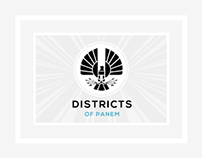 The Hunger Games: 12 Districts of Panem