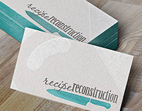 Recipe Reconstruction Business Card