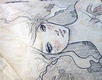 Drawings on Wood 2014