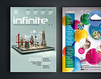 Infinite Magazine Editorial Design