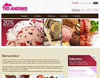 Web Tío Andino
