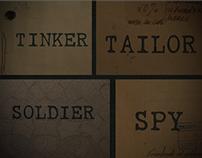 Títulos de película Tinker Tailor Soldier Spy