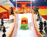 McDonald's Canada winter olympic sports