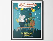 Jazz Festival / Poster illustration