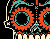 Day of the Dead - Skulls