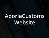 AporiaCustoms Site