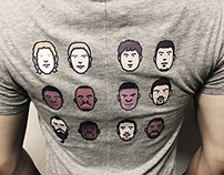 Sports Players T-shirts Porject