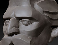 Zbrush Skeches