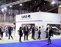 UAS Stand at EBACE2014
