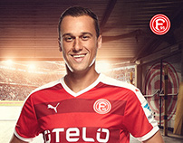 Commercial Retouch  Fortuna Düsseldorf 2015/16