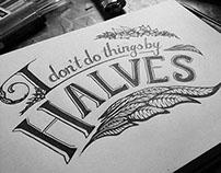 Typography  |  Type for my new portfolio