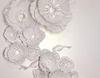 Blossom繁花   paper sculpture纸雕