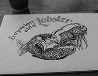 Illustration  |  Lobster love