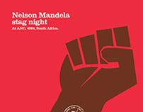 Nelson Mandela Stag night poster