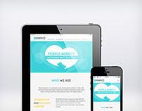 People Agency  |  Web Design & Build