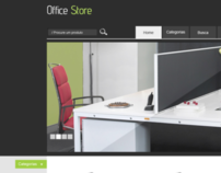 "Office Store ""Layout E-commerce"""