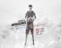 Andrew Wiggins - NBA Draft 2014 - wallpaper
