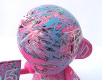 RunDMB x Most Wanted 3 - Giveaway Mini Munny