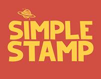 SimpleStamp Font