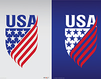 USA Badge Design