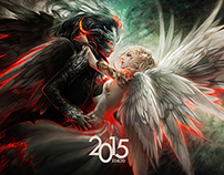 Calendar 2015 - Good VS Evil