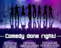 Comedy Event Poster