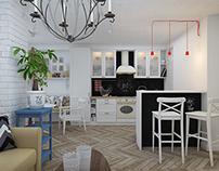 IKEA style apartment